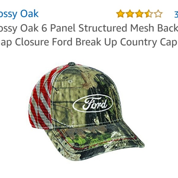 Mossy Oak Ford baseball cap 652fb2135670